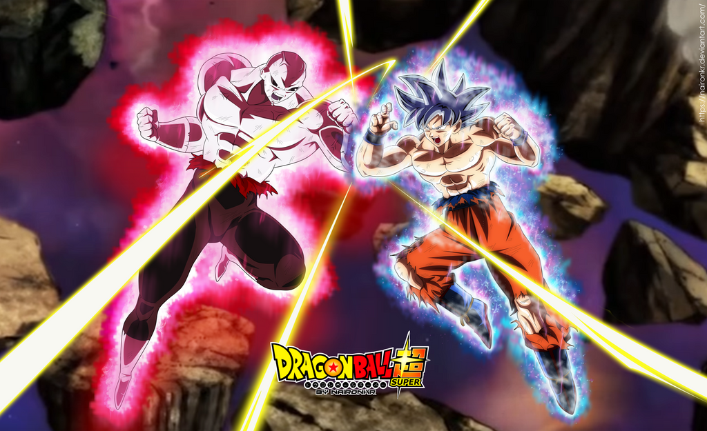 jiren vs goku ultra instinto by naironkr
