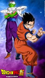 dragon ball super poster gohan picoro