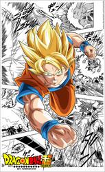 dragon ball super goku by naironkr