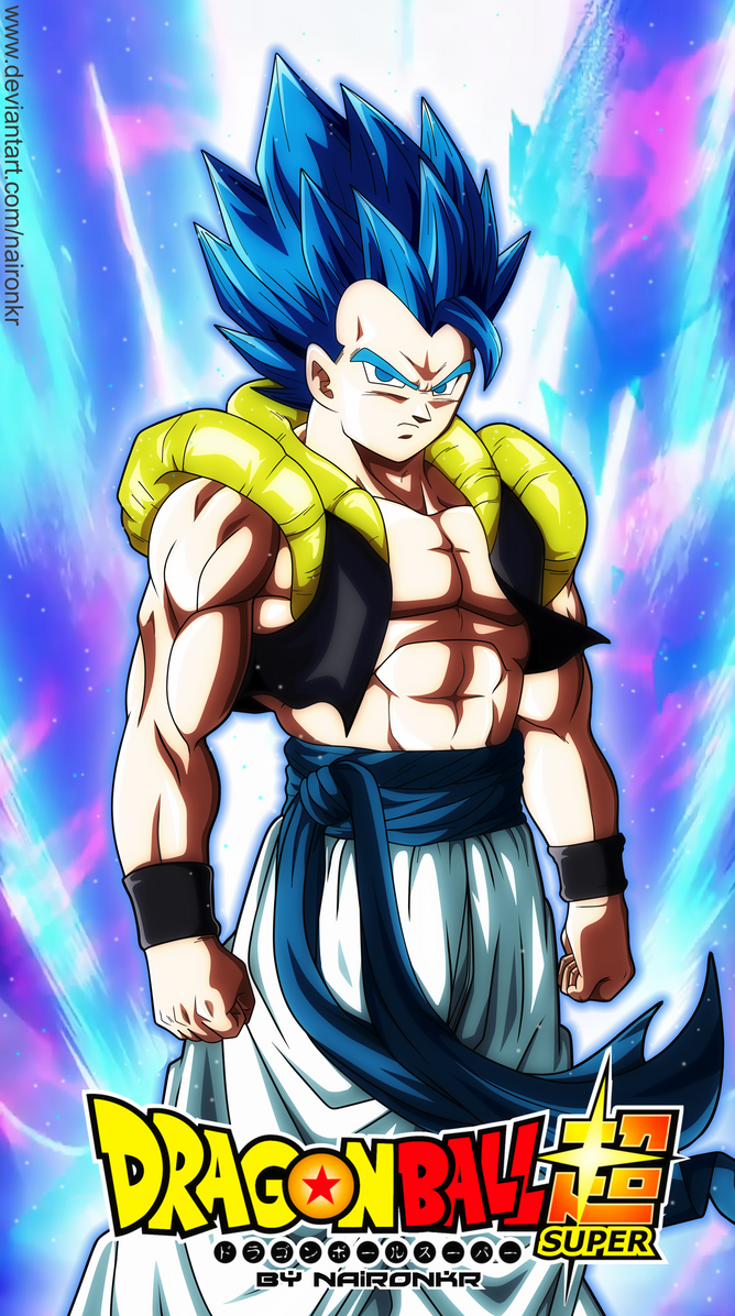 gogeta ssj blue dragon ball super