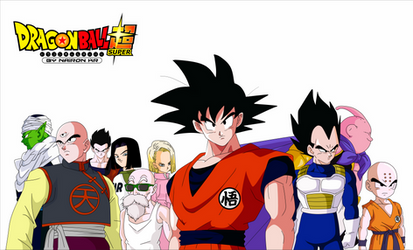 dragon ball super universo 7 90s by naironkr