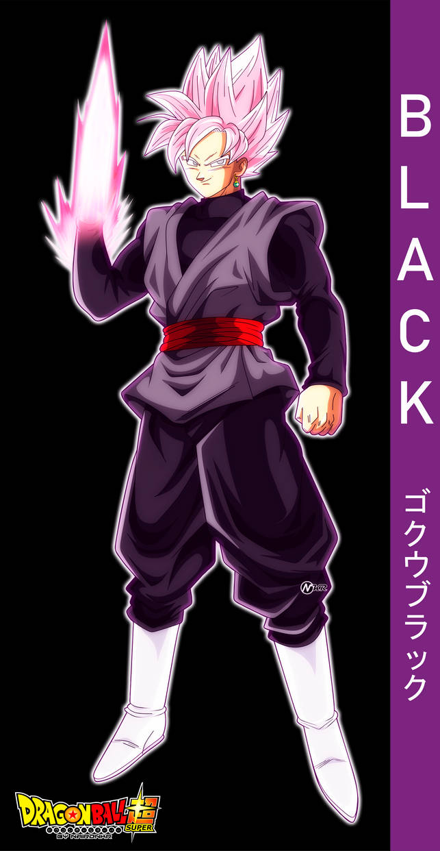 DRAGON BALL SUPER BLACK GOKU