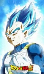DRAGON BALL SUPER vegeta ssj blue Evolution