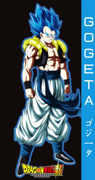 DRAGON BALL SUPER gogeta ssj blue