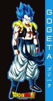 DRAGON BALL SUPER gogeta ssj blue
