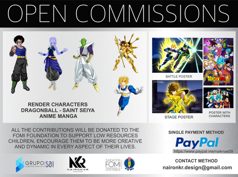 open comissions