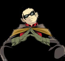 Robin Damian Wayne #RENDER by naironkr
