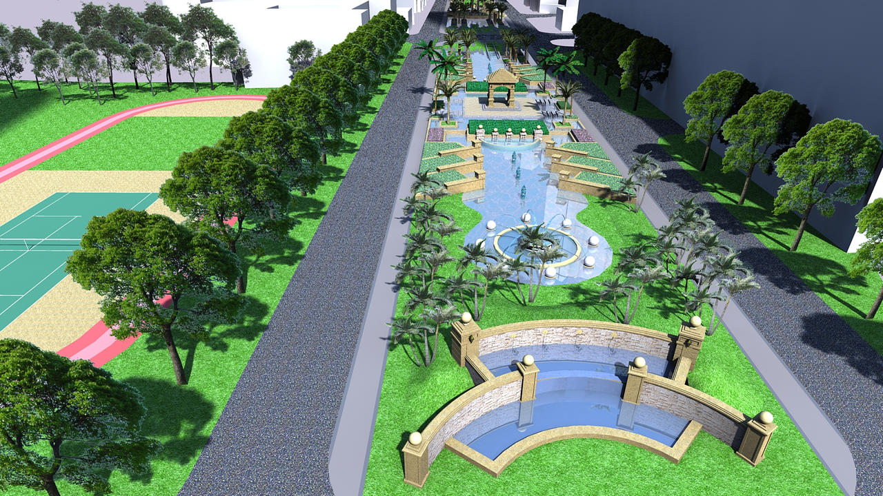Urban landscape park images galleries for Park landscape design