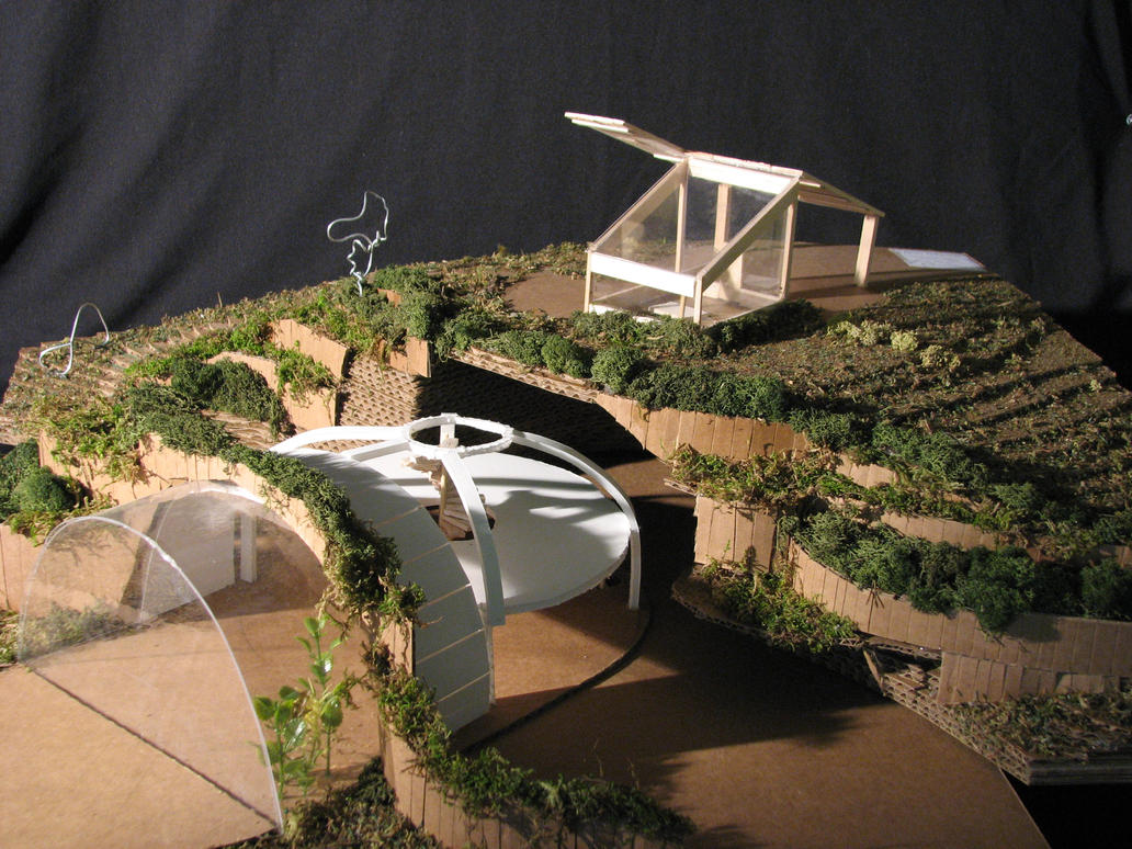 Earth shelter by justinlibra on deviantart for Earth sheltered structures