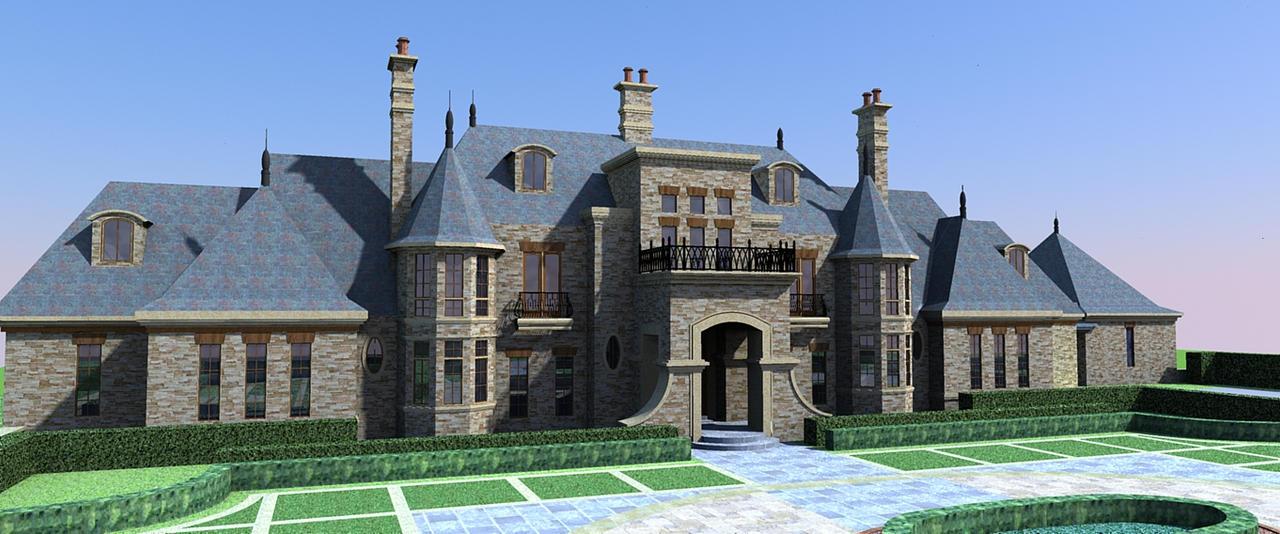 Mega Mansion By Justinlibra On Deviantart