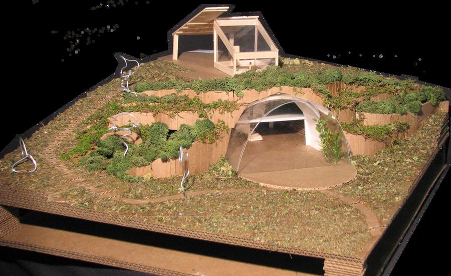 delightful earthshelter #1: Earth Shelter- Image 2 by justinlibra ...