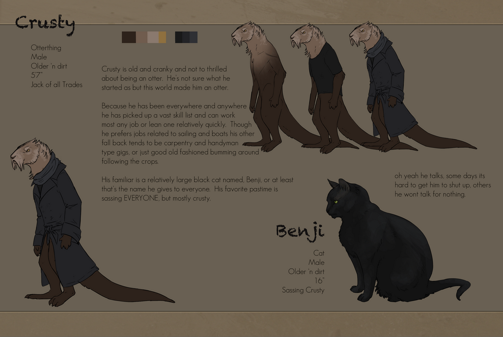 Crusty And Benji [WoR] by bolthound