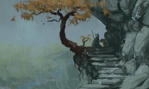 Gentle Rain by bolthound
