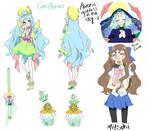 Cure Aurora/Mitsuki