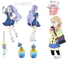 Cure Nightly/Mari by sereneworld12
