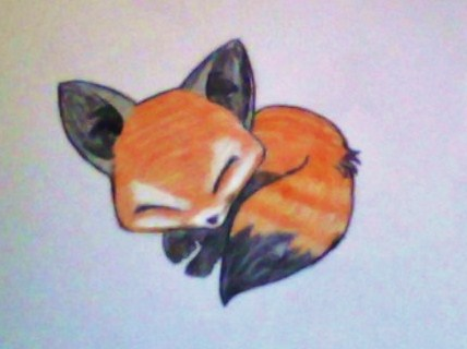 Adoptable Fox Drawing By Albinoawesome On Deviantart