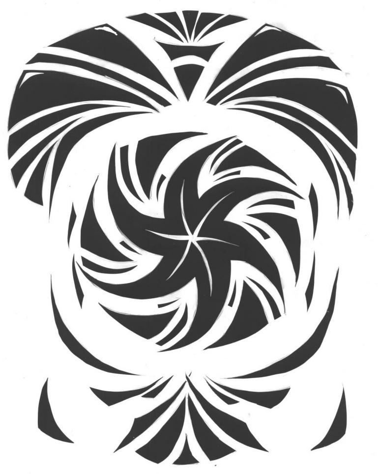 Spiral bw by tequilla56