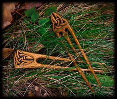 Celtic hairpins
