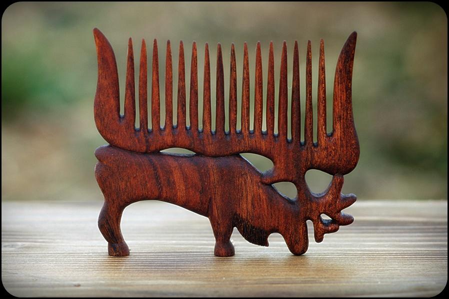 Moose [haircomb] by pagan-art