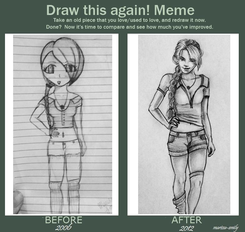 Draw This Again Meme by Marissa-Emily