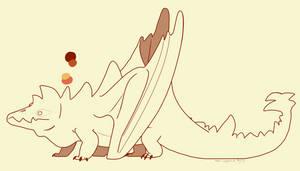 One thicc dragon boi