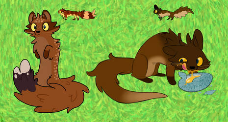 A couple of Weaselly critters