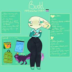 (OC character sheet) Budd