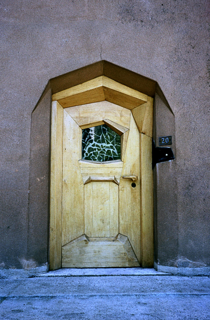 Front Door In Dornach by Woscha