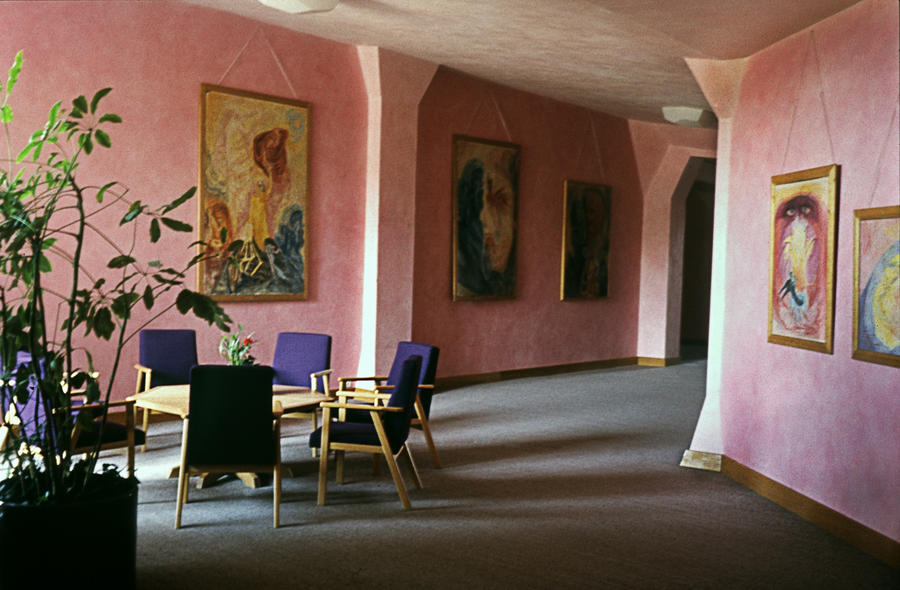 Hall In Goetheanum by Woscha