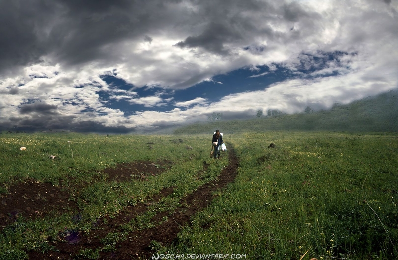 Walking Again (Golan) by Woscha