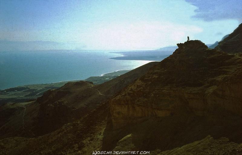Dead Sea by Woscha
