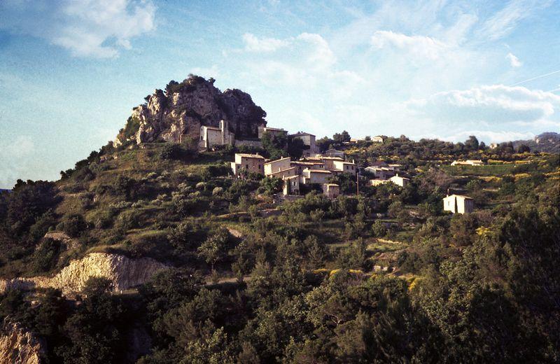 La Roque-Alric - Vaucluse - France by Woscha