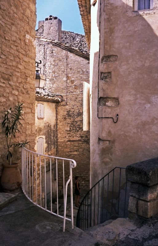 Gordes - Vaucluse - France by Woscha
