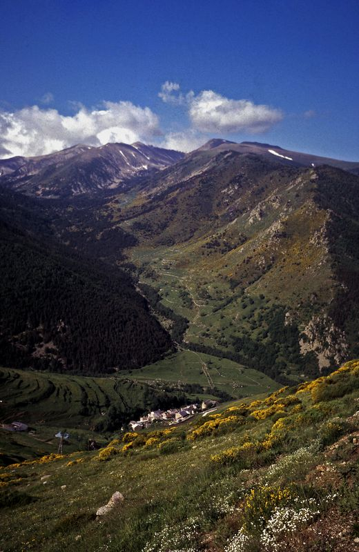 The Village Py  (1566 m) - Pyrenees - France by Woscha