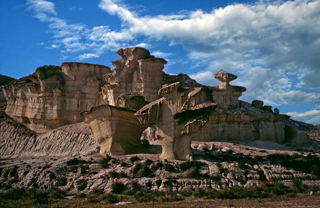 Sandstone Formation near Bolnuevo - Prov. Murcia by Woscha
