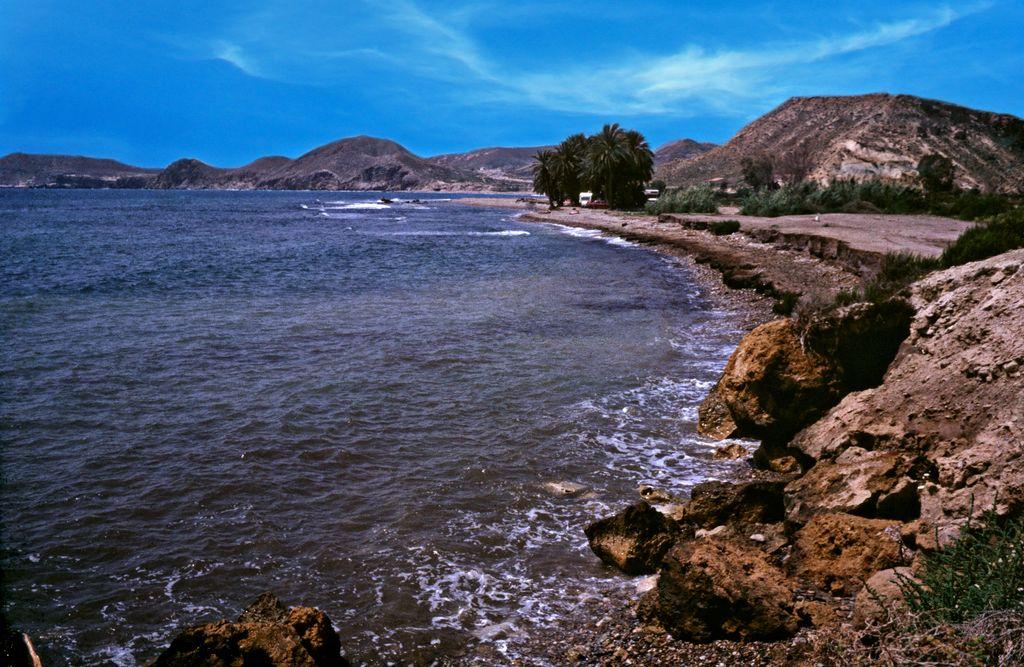 Coastline near Aguilas - Prov. Murcia - Spain by Woscha