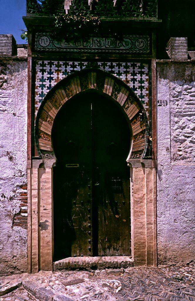 Portal in Granada - Spain by Woscha