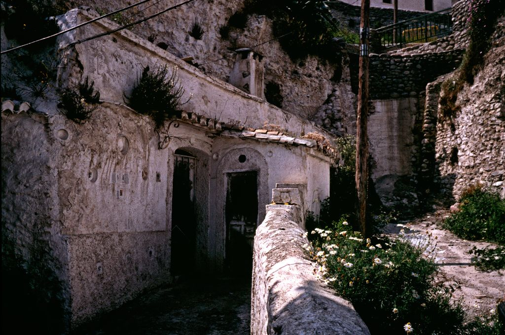 At Sacromonte in Granada by Woscha