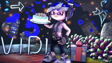 Vidoit's Birthday. by MrHighTop15