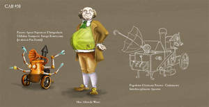 Herr Wezer and his Aparatus