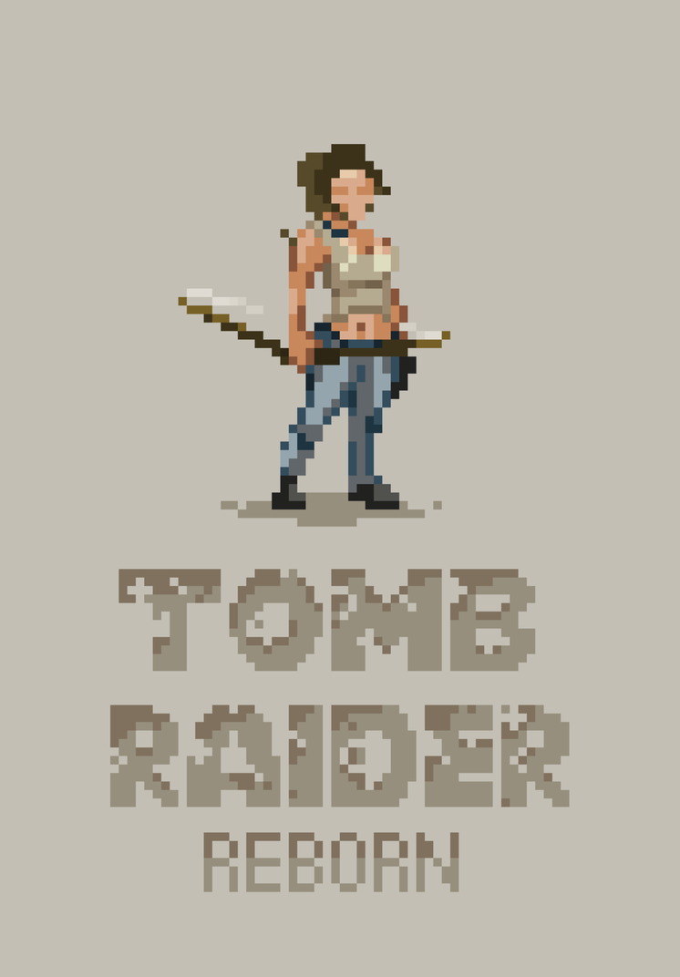 Tomb Raider Lara by blackmoondev
