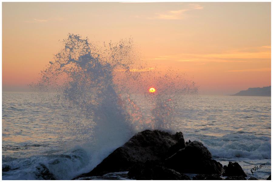 Splatsh by SeaWavesFoam