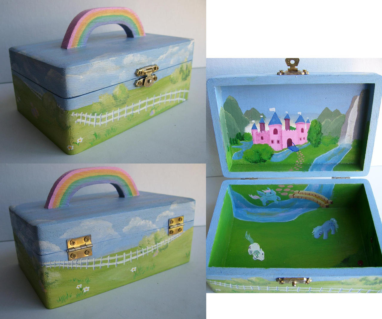 My Little Pony box- gift by Elisto
