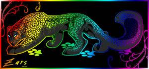 Rainbow Leopard by gard3r