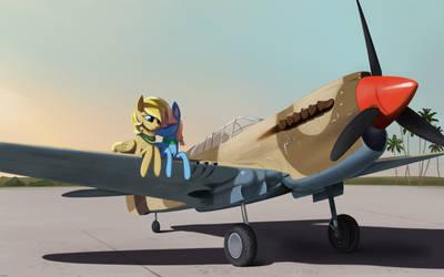 Wartime cuddles