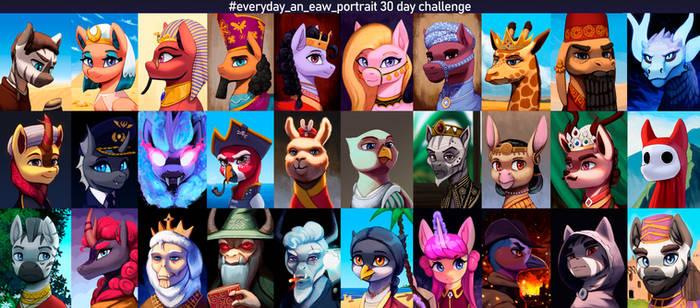 30 day portrait challenge