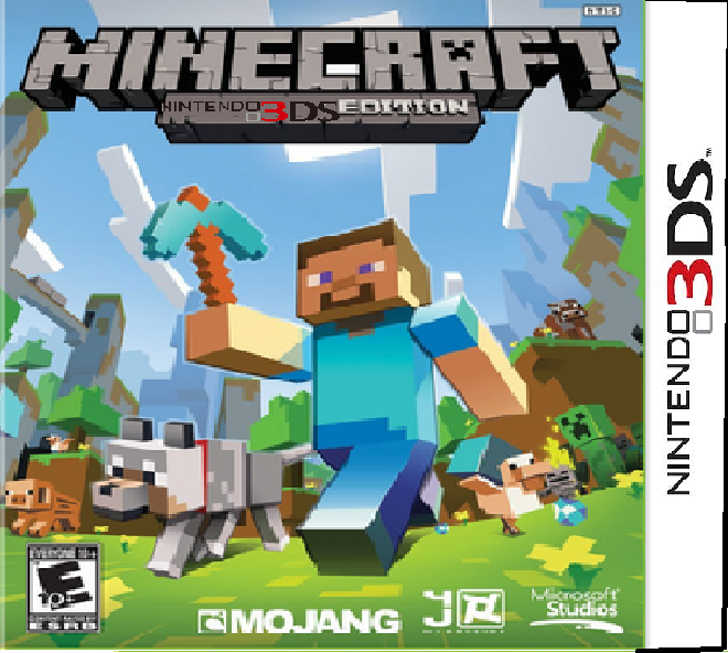 Minecraft for 3ds - c88a