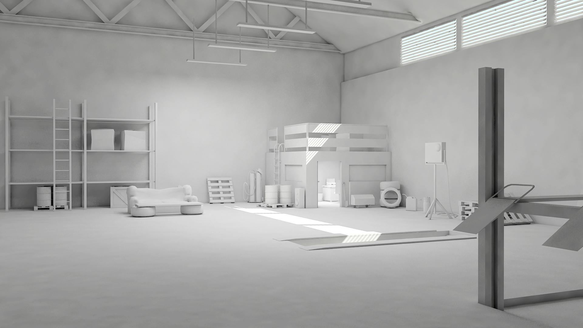 3d garage scene 2 wip by y50p on deviantart for 3d garage builder
