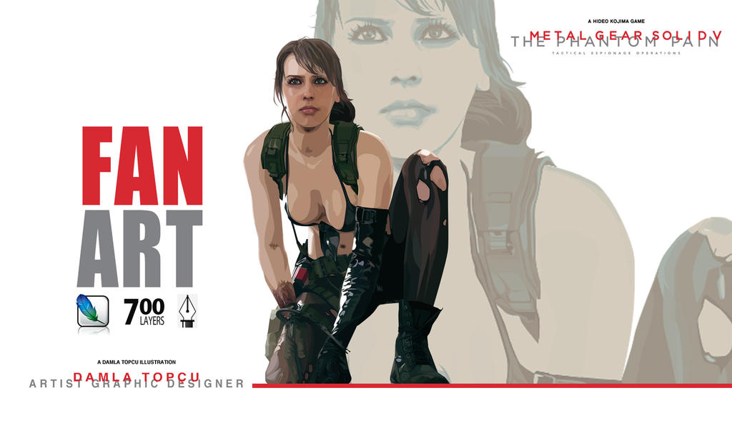Metal Gear Solid - illustration by Damla Topcu by damla-deviantart