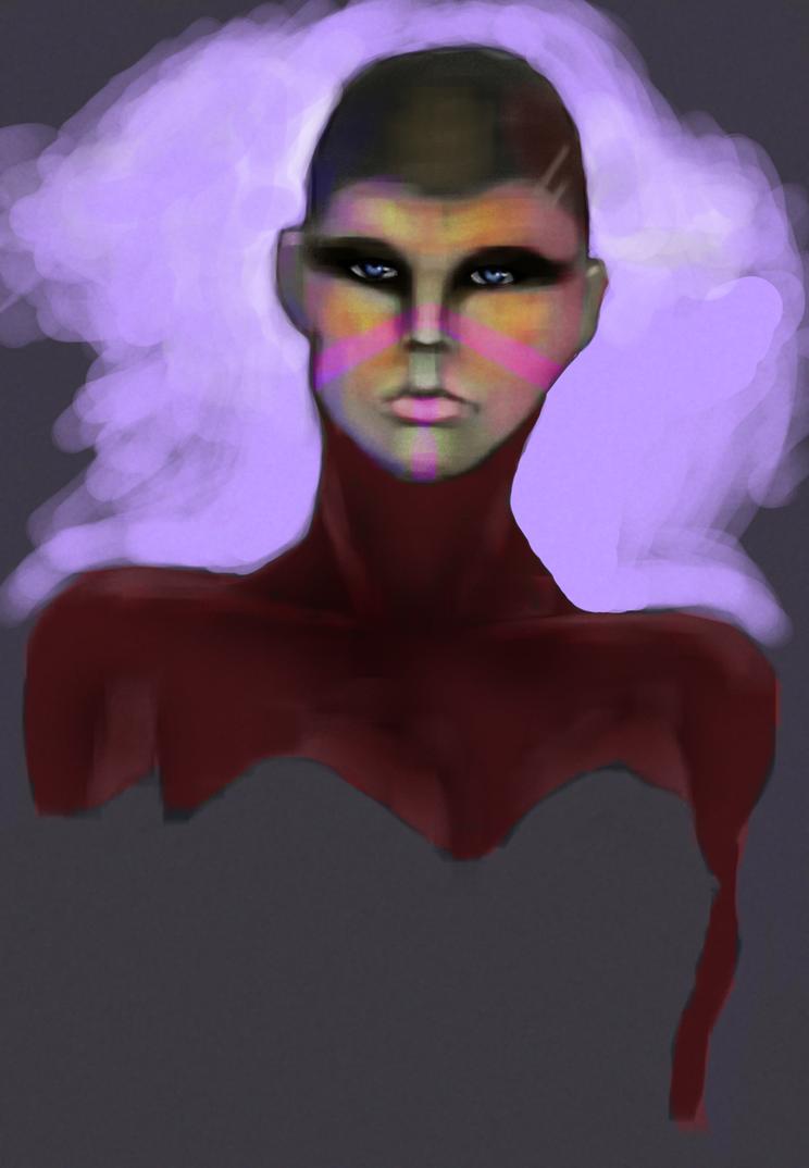 Colorful Woman by matthewjoseph